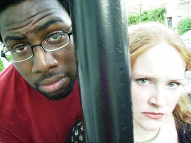 ginger and black - stand up comedian