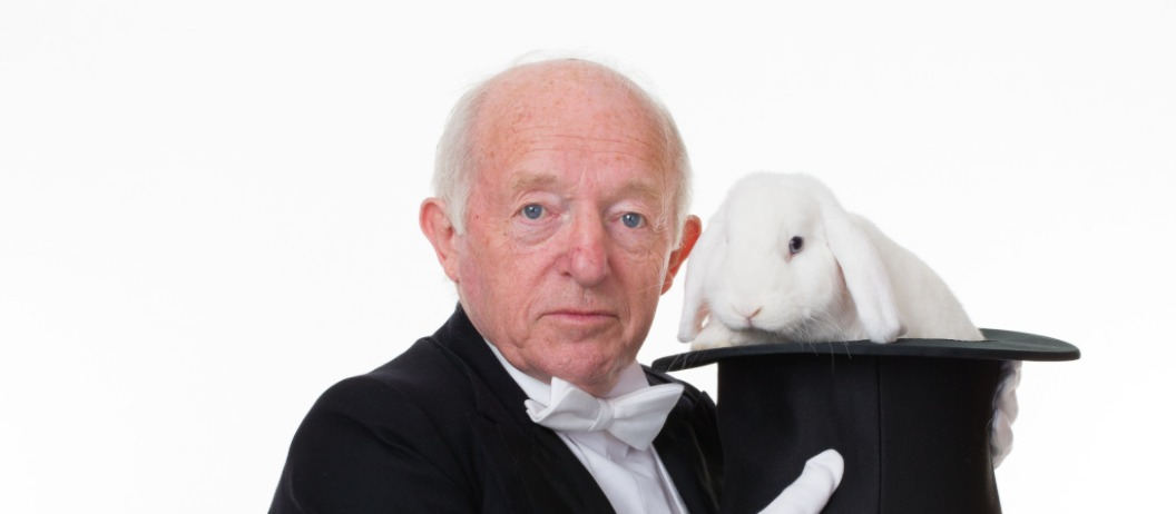 Paul Daniels and Debbbie McGee