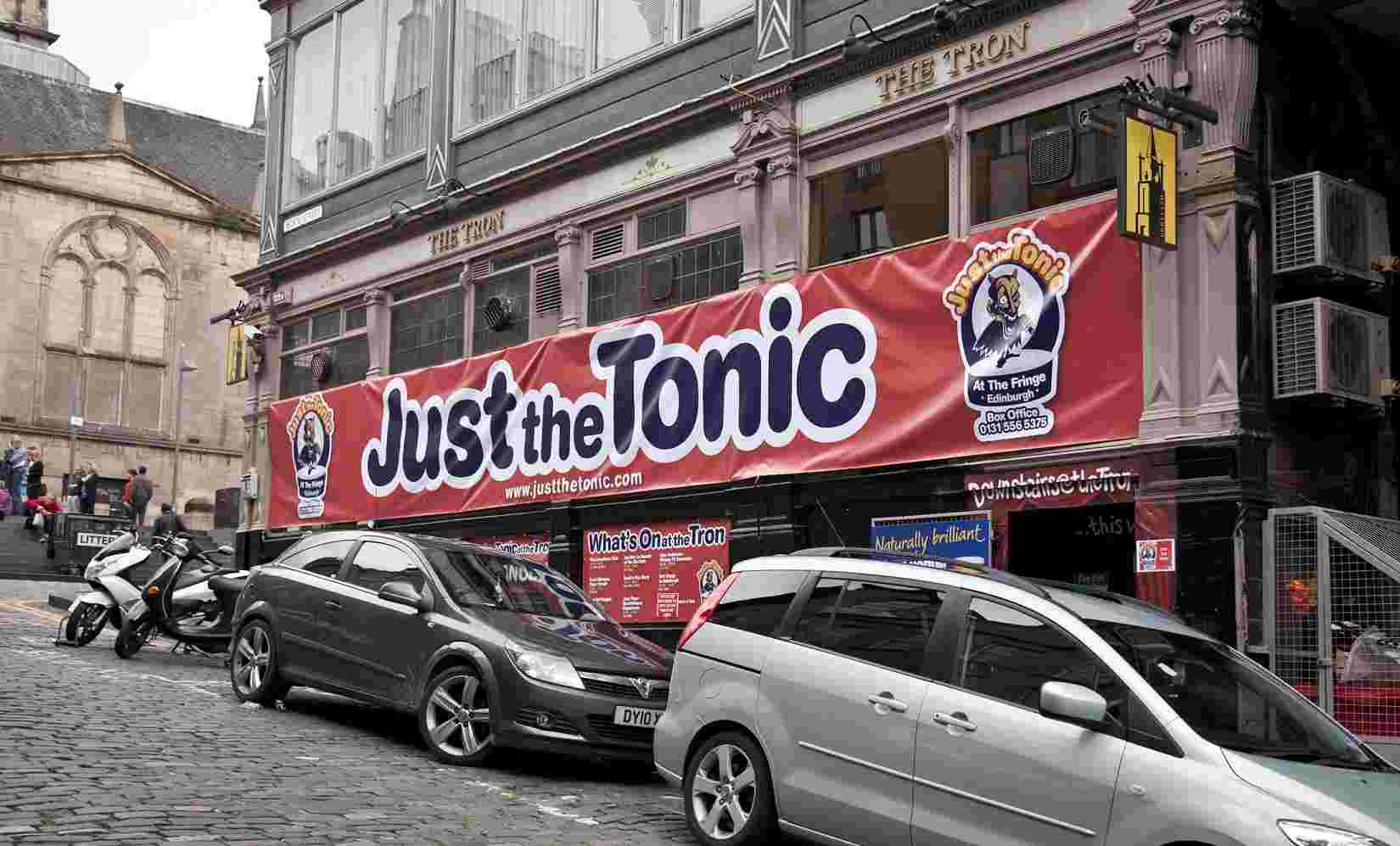 Just Downstairs at The Tron - Just the Tonic Comedy Club