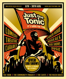 Just The Tonic Edinburgh Fringe 2015 Brochure