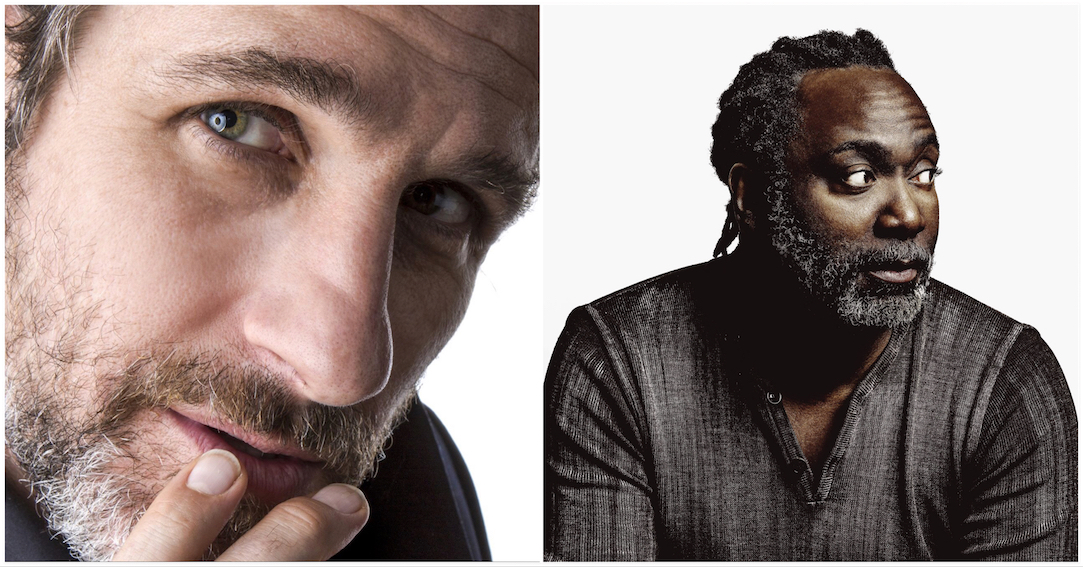 Tom Stade and Reginald D Hunter