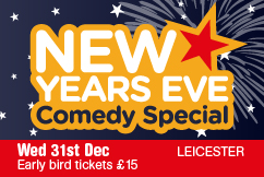 Leicester New Year's Eve Comedy