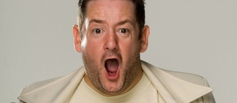 Johnny Vegas comperes - Just the Tonic Comedy Club - Birmingham