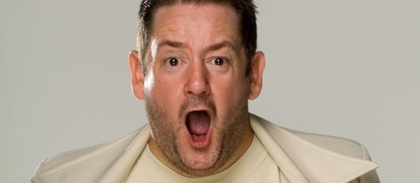 Johnny Vegas comperes Just the Tonic Comedy Club - Reading